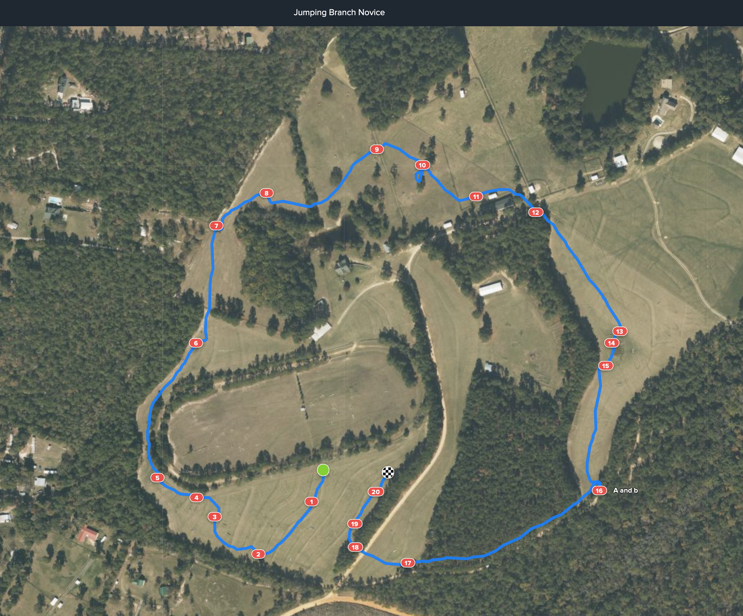 novice course map